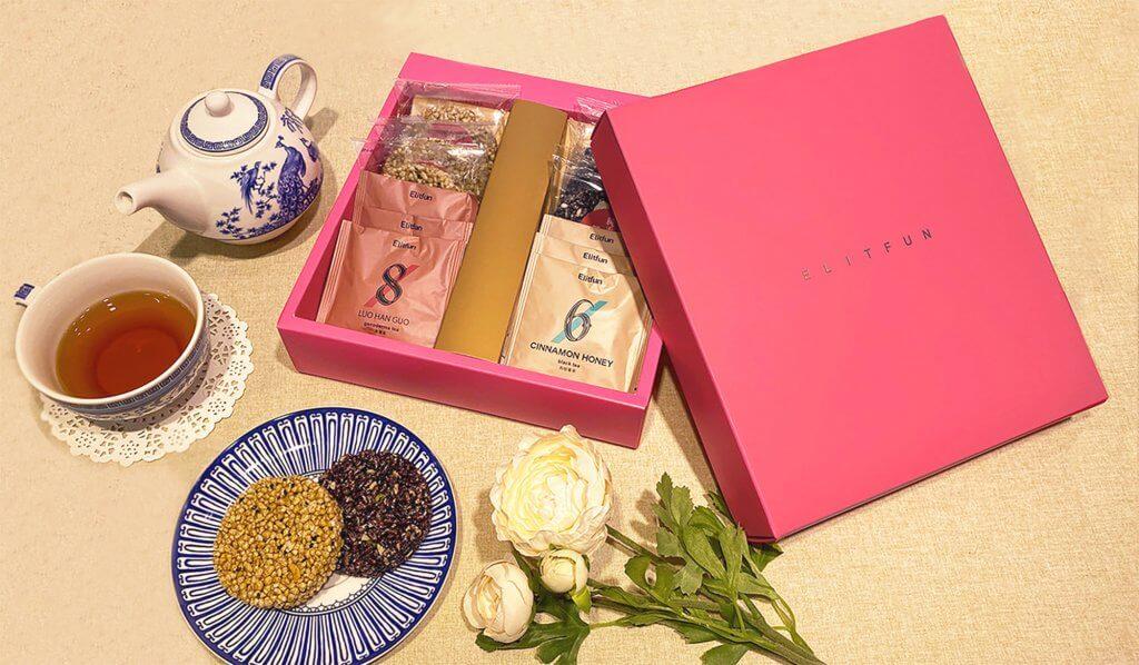 米香茶葉伴手禮盒